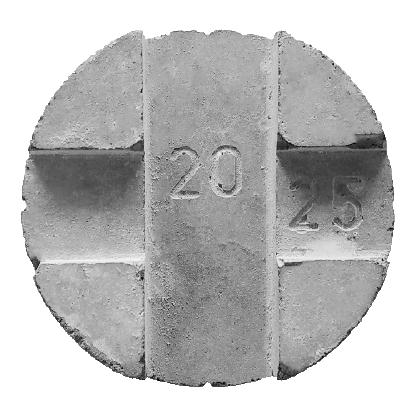Concrete Cover Blocks 20,25mm Circular (2in1)