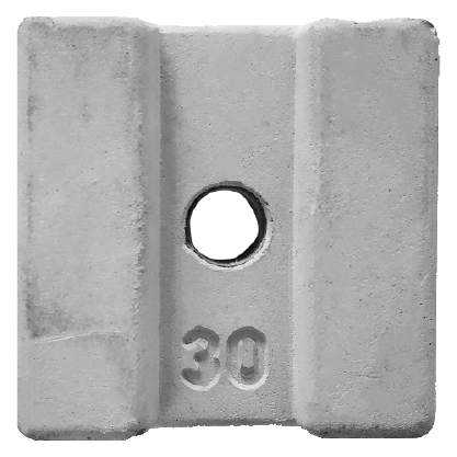 Concrete Cover Blocks 30mm with hole