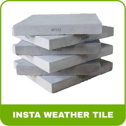 "Raman -  Insta Weather Tile [12"" * 12"" * 1"" (25mm)]12"" * 12"" * 1"" (25mm)"