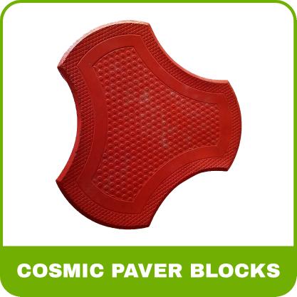 Paver Blocks Rubber Mold - Cosmic