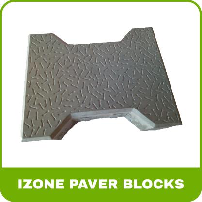 Paver Blocks Rubber Mold - I zone