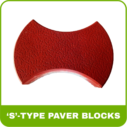Paver Blocks Rubber Mold - S-Type
